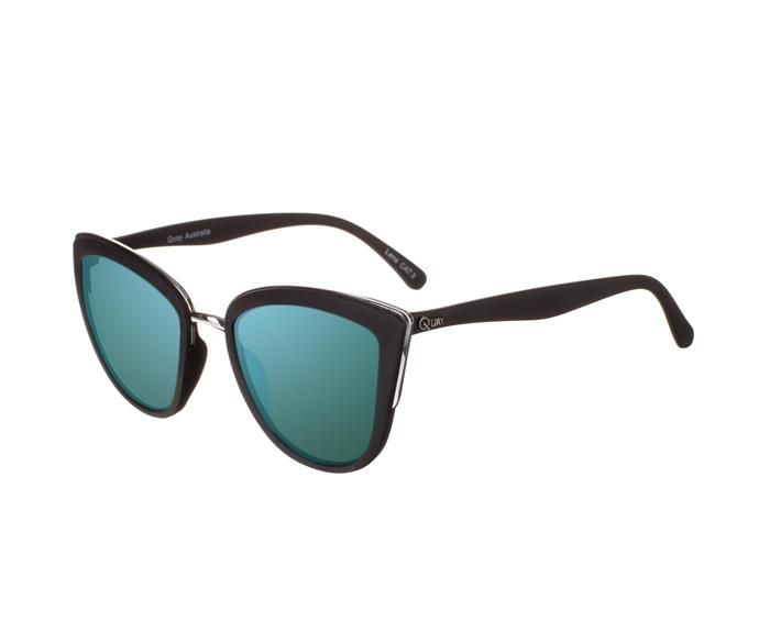 On-trend and a little edgy, these Quay sunglasses feature a cool blue lens. **$50** [The Iconic](http://www.theiconic.com.au/my-girl-183304.html).