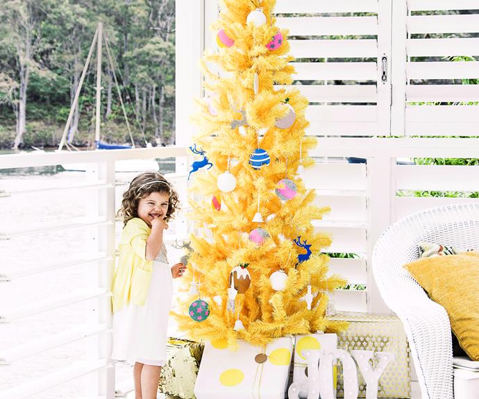 No matter the tree you choose, don't forget to get the whole family involved in the decorating!