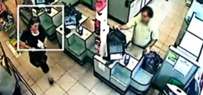 This CCTV footage is the last time Lorrin was seen.
