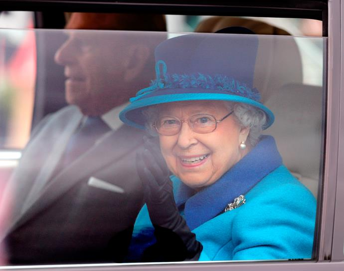 """The Queen drew up at the Royal Windsor Horse show in 1991 where she was greeted by a guard saying: """"Sorry love, you can't come in without a sticker."""" The Queen, unfazed by the incident, replied: """"I think if you check, I will be allowed to come in!"""" The guard later admitted he thought she was """"some old dear"""" who was lost."""
