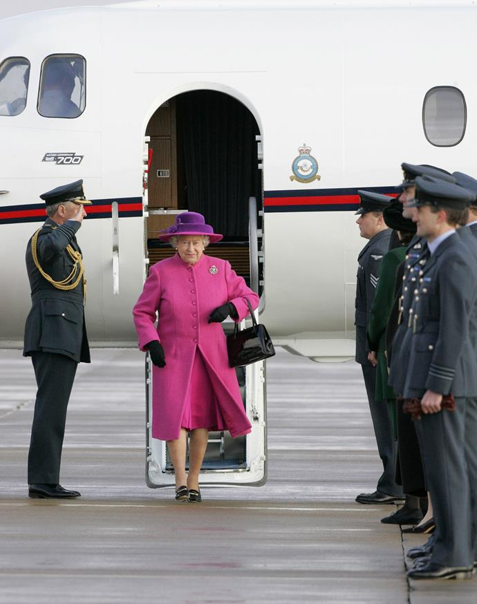 """The Queen was lunching at Windsor Castle with racing friends. """"Boeing 747,"""" she said as a plane flew overhead. Then she said: """"That's an Airbus."""" As Windsor is right next to Heathrow, planes can be heard roaring past at all hours. The Queen can identify each type by its different sound."""
