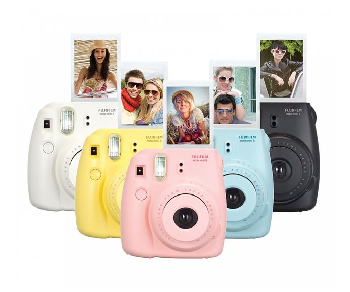 """[Fujifilm Instax Mini 8 Cameras, $99](http://www.target.com.au/p/fujifilm-instax-mini-8-camera-pink/54636484