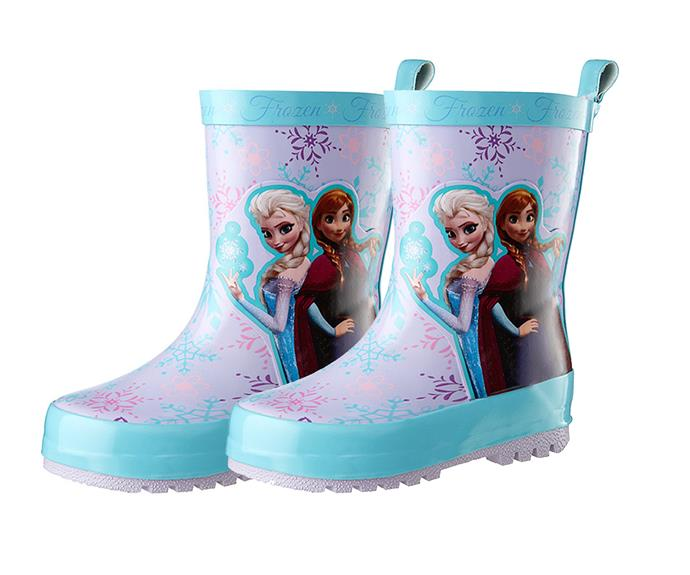 """It's all about Disney's Frozen movie this Christmas, with [Target](http://www.target.com.au/p/disney-frozen-rain-boots-lilac/56965384