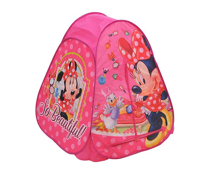 """This [Minnie Mouse tent, $25,](http://www.myer.com.au/shop/mystore/toys/minnie-mouse-hideaway-tent