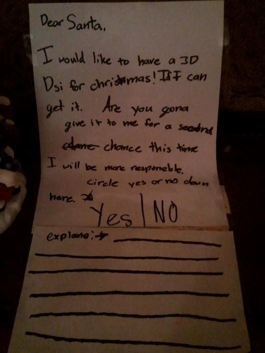 There are no second chances with Santa..