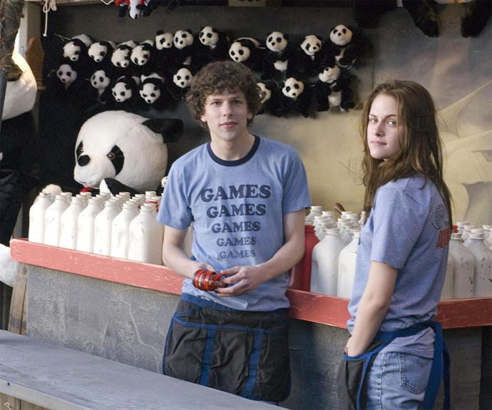 **Adventureland** Jesse Eisenberg and Kristen Stewart star in this coming of age film about how sometimes crappy summer jobs are the time where you learn about life the most. Oh, and the agony of summer romance.