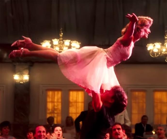**Dirty Dancing** This 80's classic is perfection in a holiday film. So much drama! And growing up! And that lift! Sigh. Nobody puts baby in the corner INDEED.