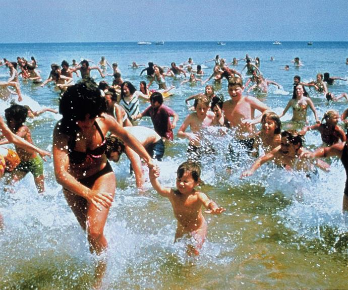 **Jaws** Sure you still can't swim in shallow water, but despite inducing a doom-filled feeling of imminent peril Spielberg did create the ultimate summer holiday vibe in this 70s hit.