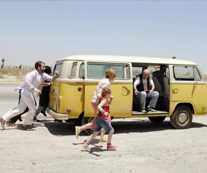 **Little Miss Sunshine** This quirky film about a motley family that love each despite everything driving across America in a Volkswagon van so that 7 year-old Olive – a disarming eccentric who is sure of her own mind – can compete in a beauty pageant is such a win.