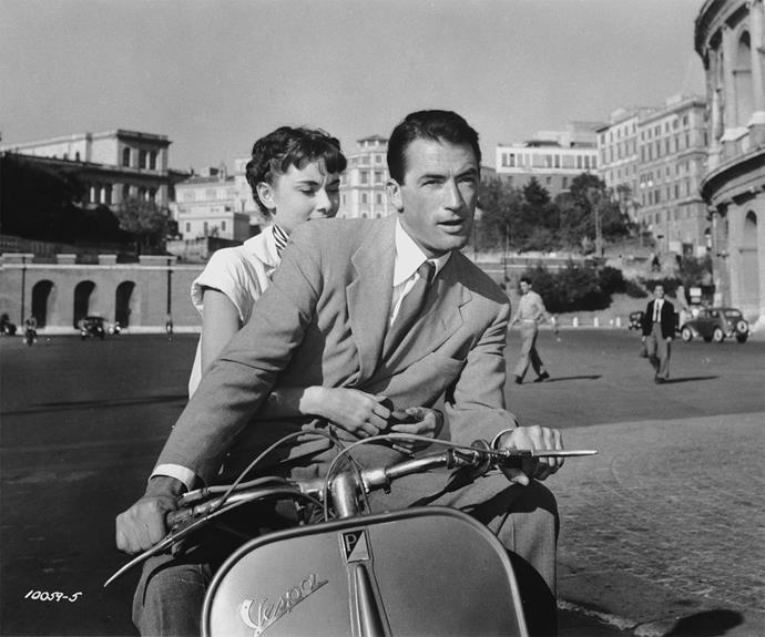 **Roman Holiday** If Audrey Hepburn's outfits in this 1953 classic don't get you there, then the sights of Roma certainly will.