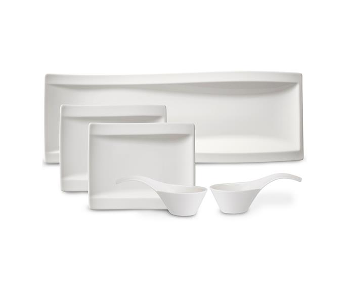 """**[Villeroy and Boch Antipasto set](http://www.villeroy-boch.com.au/shop/newwave-antipasti-set-5pcs.html