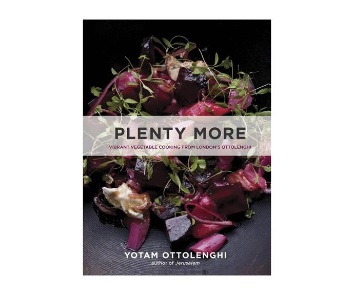"""**[*Plenty More: Vibrant Vegetable Cooking from London's Ottolenghi* by Yotam Ottolenghi](http://www.angusrobertson.com.au/books/plenty-more-yotam-ottolenghi/p/9780091957155