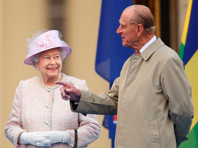 More smiles for her Prince. Congratulations on 69 wonderful years!