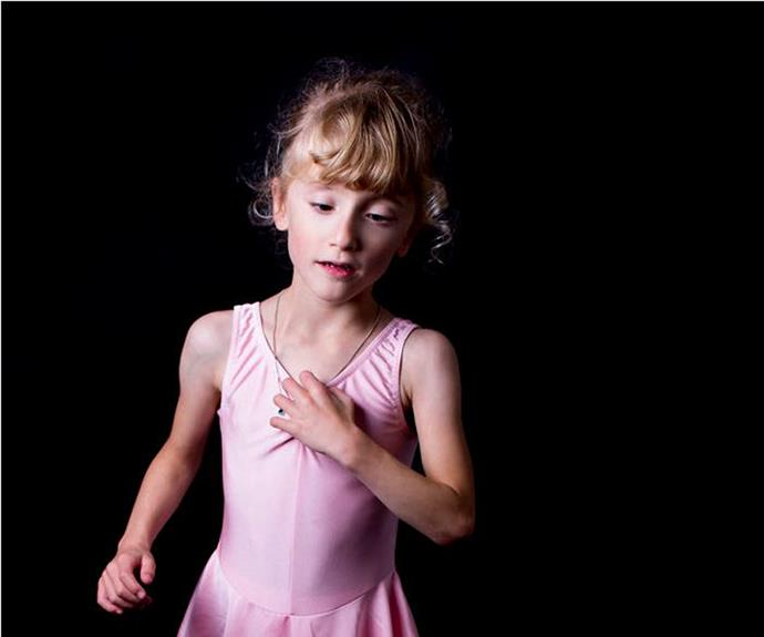 """""""Elisabeth loves to dance and has recently started ballet lessons."""""""