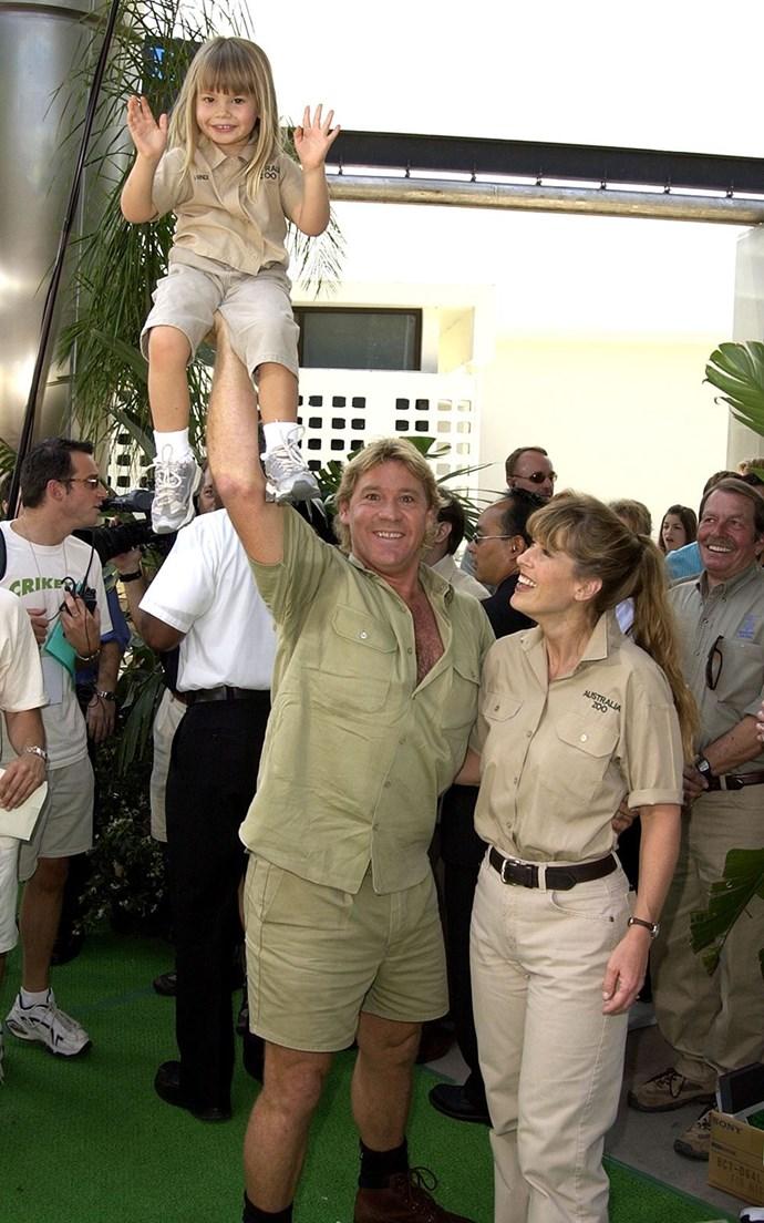 Bindi, born 'Bindi Sue', is Steve and Terri's first child.
