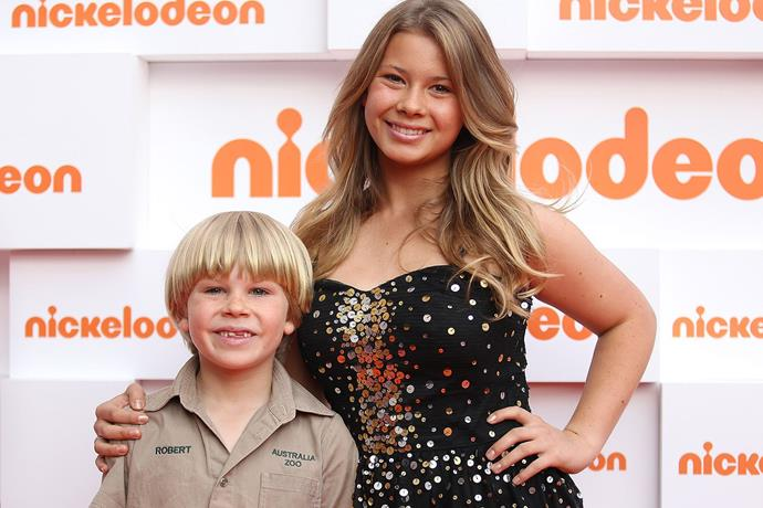 Bindi and Bob at the Kids' Choice Awards in 2011.