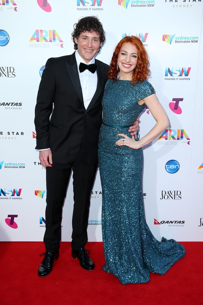 Emma Watkins and Lachlan Gillespie