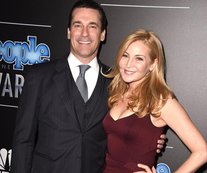 Sadly, Jon Hamm and his partner of 18 years Jennifer Westfeldt split up in September after a trouble year for the *Mad Men* actor.