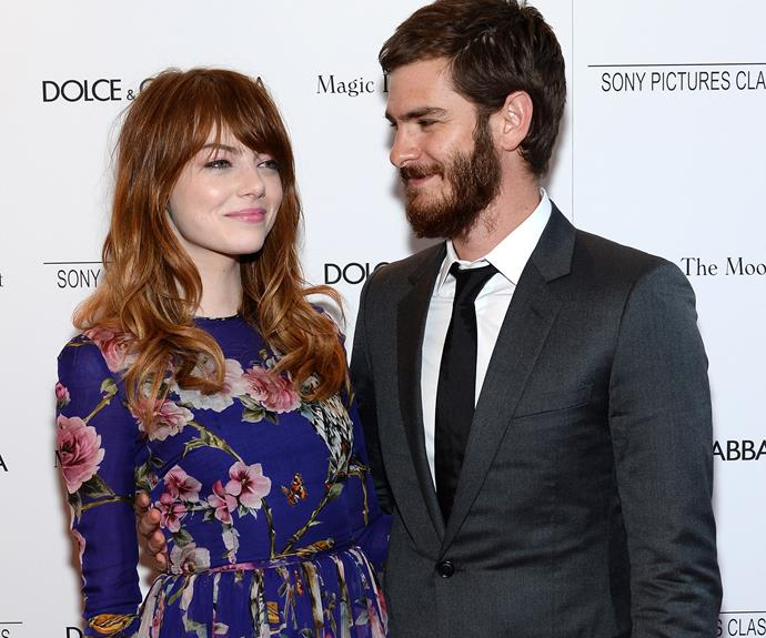 Emma Stone and Andrew Garfield called time on their relationship in October.