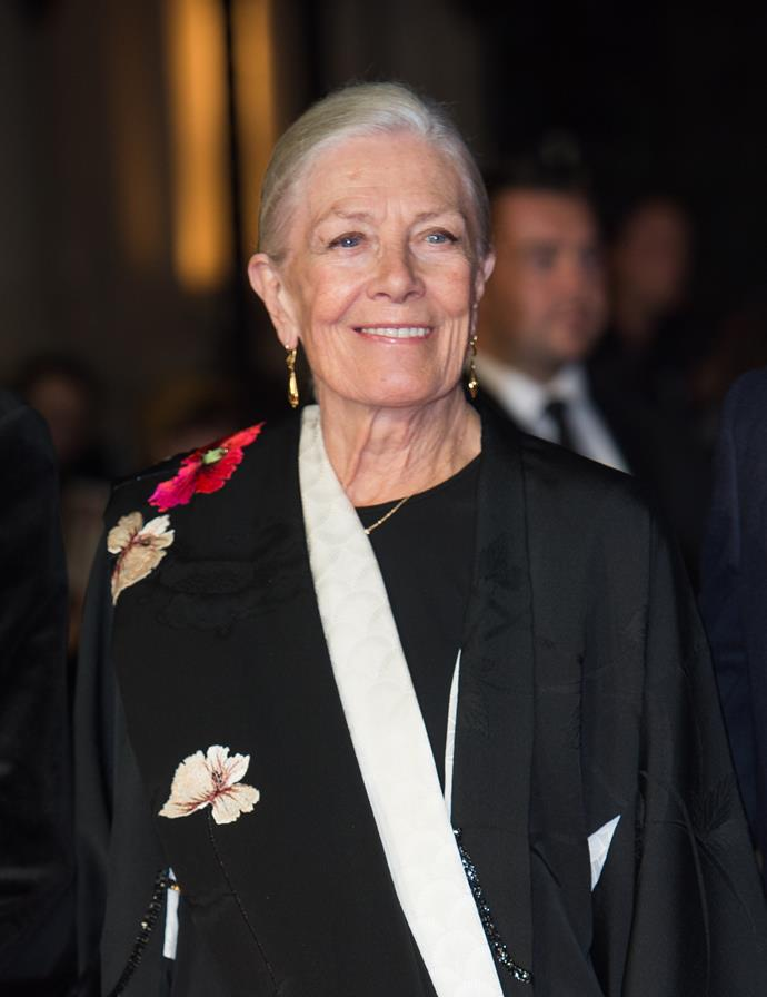 Vanessa Redgrave, November 2015, aged 78