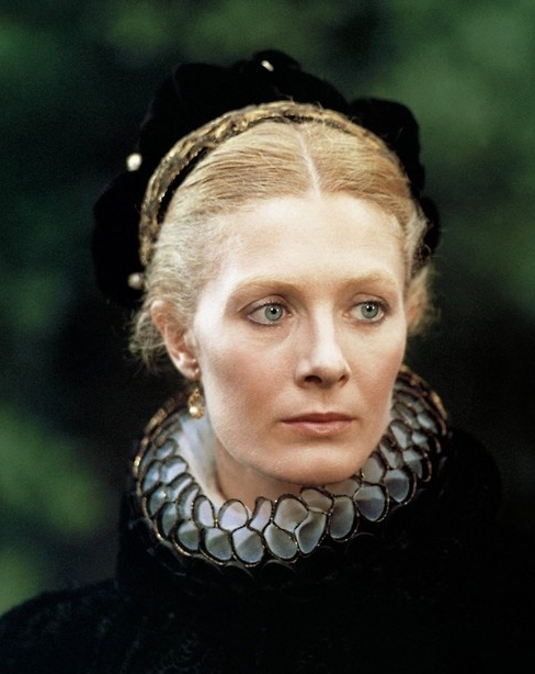 Vanessa Redgrave, as *Mary, Queen of Scots*, 1971, aged 34