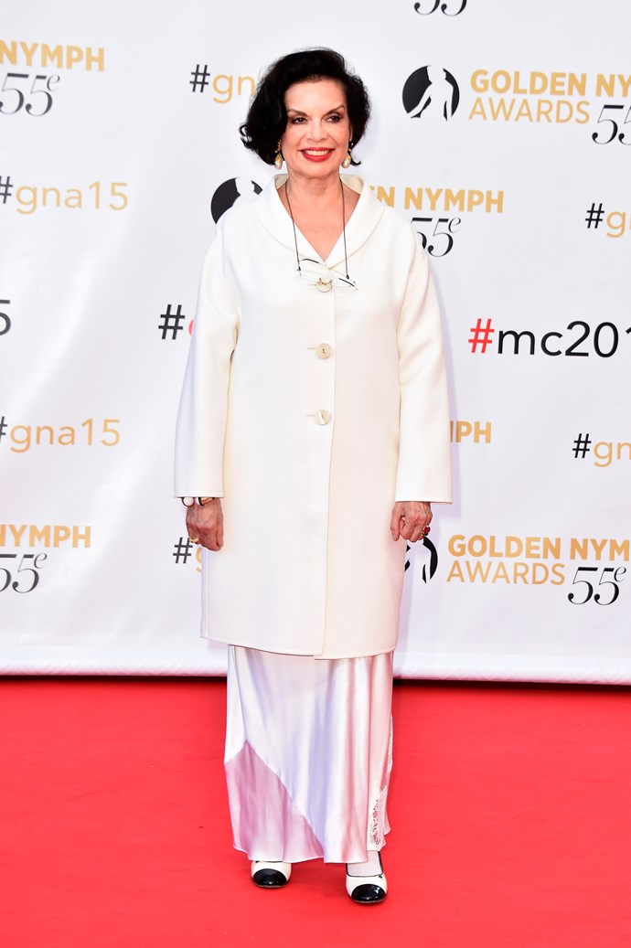 Bianca Jagger, June 2015, aged 70