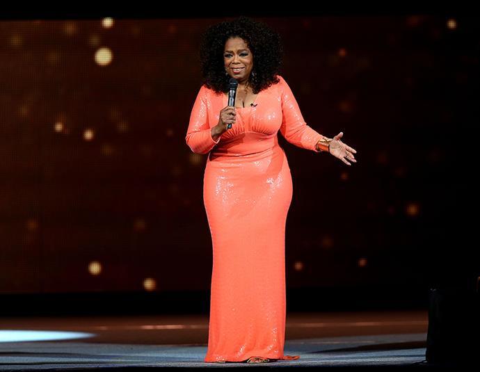 Oprah at Rod Laver Arena.