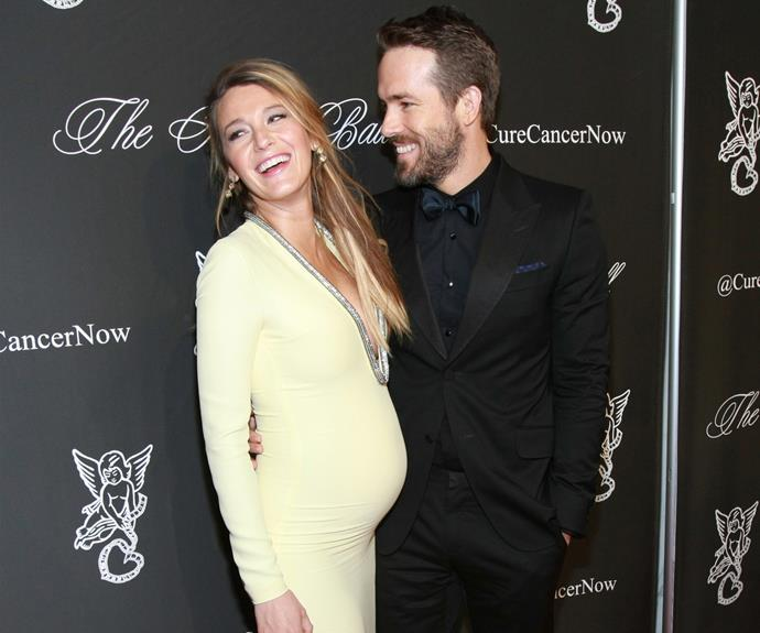 Ryan Reynolds said he want to name his bubba Excalibur Anaconda if he and Blake Lively had a girl, but they opted for a slightly more 'traditional' name instead - James.