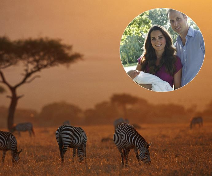 Since their engagement there in 2010, **Africa** (Kenya, especially) has had a special place in **Kate and Wills'** heart. They often holiday there.