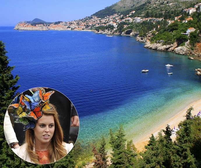 While sister **Princess Beatrice** prefers Ibiza (and Switzerland... and New York... and London... and Wales...).