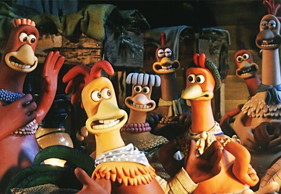 A group of chickens and a crazy rooster must band together to escape their evil owners and their pie machine. It's a great fun flick, all about the importance of ... teamwork!