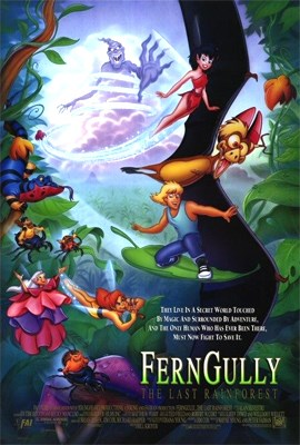 It may be nearly 10 years old, but the message in Fern Gully is still very relevant today - we need to take care of the environment or we will lose it forever.