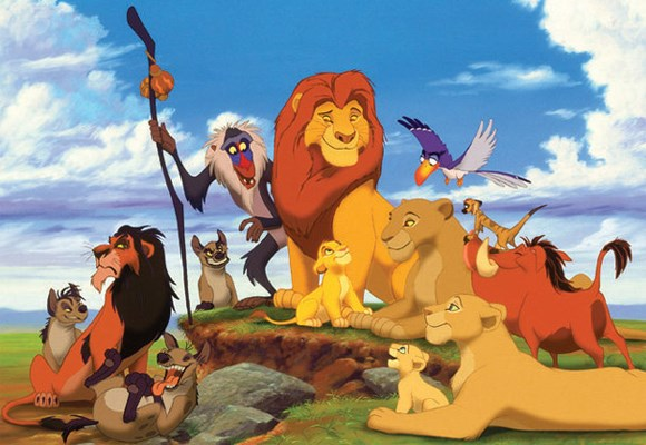 A timeless classic. The Lion King features betrayal, loss, shame, disappointment, friendship, bravery and family - plus a great soundtrack and lots of funny quotes.