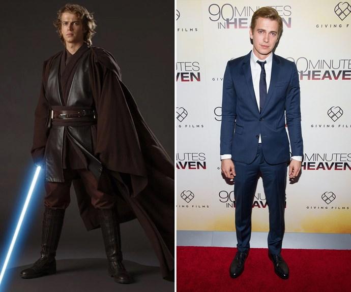 The star of the prequels, Hayden Christensen, who played Leia and Luke's dad, Anakin Skywalker (later Darth Vader), is still kicking around.