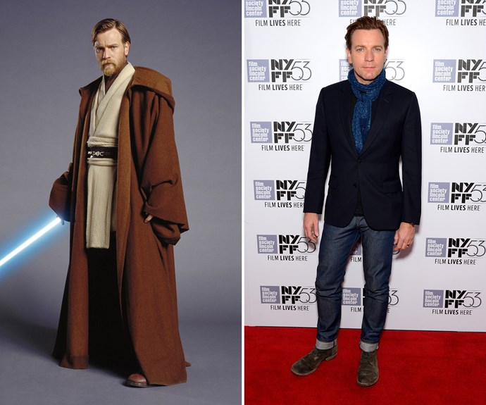 Ewan McGregor still looks pretty dapper! The actor played Obi Wan Kenobi in the prequels.