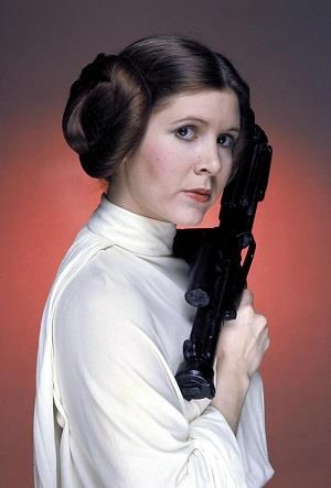 Fisher first portrayed Princess Leia in 1977 when she was 21.
