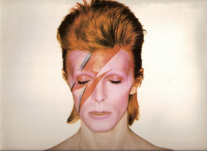 A song was titled *Ziggy Stardust* from the album *The Rise and Fall of Ziggy Stardust and the Spiders from Mars* released in 1972.
