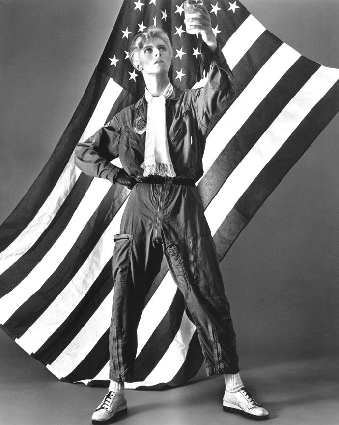 After releasing an album every six months for a few years, David Bowie released *Young Americans* in 1975. This album shed his glam rock image and he explored a more soulful side. This album contained *Fame* his first number one hit in the US.