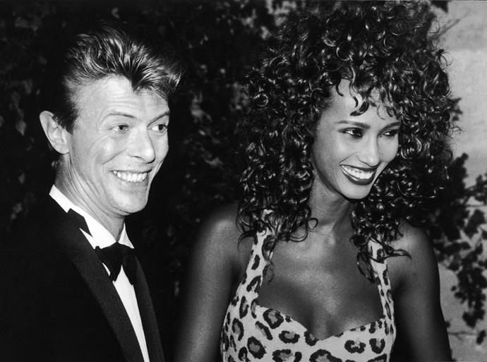 David Bowie met and fell in love with Somali-American fashion model, Iman