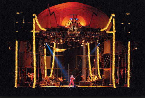 The *Glass Spider Tour* is a video album which was filmed on the *Glass Spider Tour* at the Sydney Entertainment Centre in 1987.