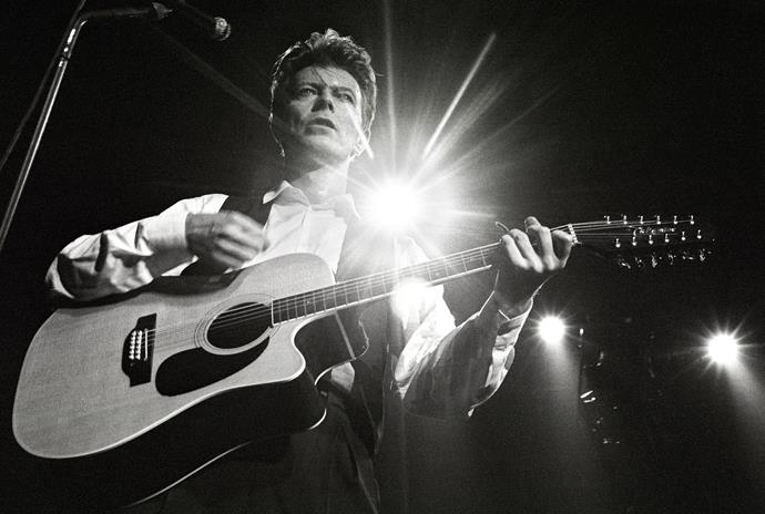 Performing in Rotterdam in 1990.