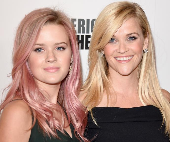 Reese Witherspoon and her daughter Ava