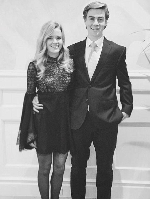 """Ava shared this picture on her Instagram account, captioning it, """"Somewhat formal."""""""