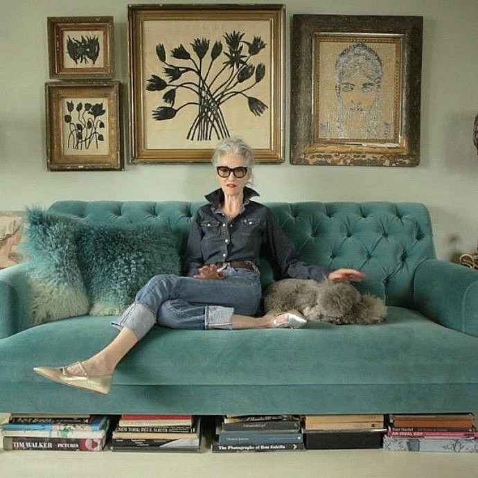The former editor and stylist says her mother is her ultimate inspiration (Image: @lindaandwinks Instagram)*