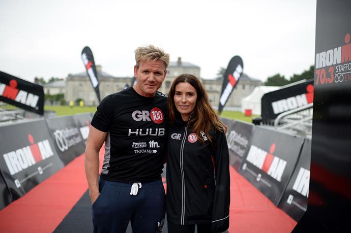 Gordon Ramsay and his wife, Tana.