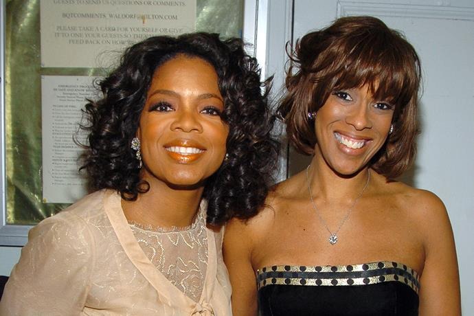 Oprah with her best friend of many years Gayle King.