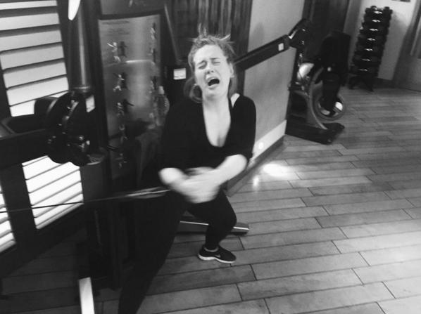 image: Adele instagram