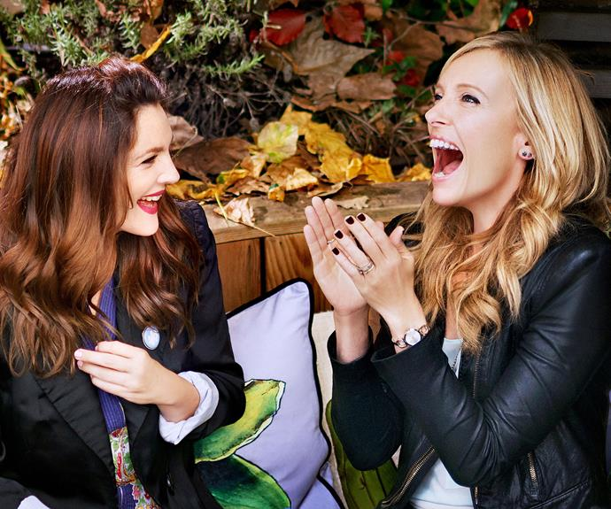 Toni Collette and Drew Barrymore in Miss You Already.