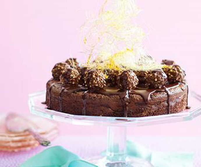 "[Chocolate indulgence cake](http://www.foodtolove.com.au/recipes/gluten-free-chocolate-indulgence-cake-16543|target=""_blank"")"