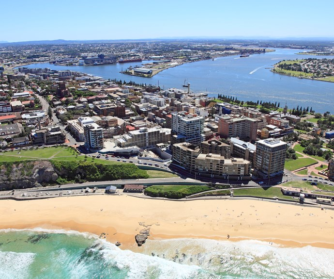 Newcastle has glorious city beaches, and a fine harbour on the Hunter River. Image supplied.